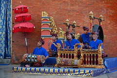 Gamelan orchestra for performance