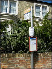 St Margaret's Road bus stop