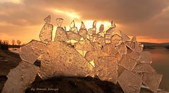 Ice and snow art by tamas kanya