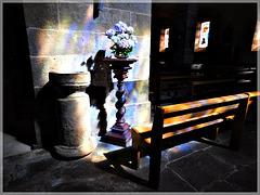 Intérieur de l'église de Plouer sur Rance (22)
