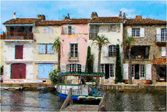 Impression Port Grimaud