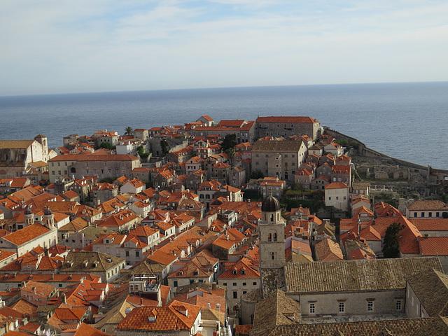 Les toîts de Dubrovnik, 12.