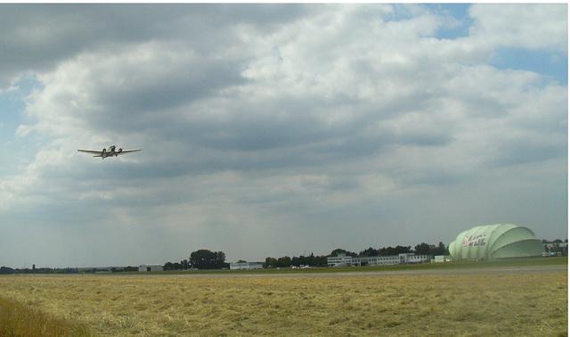 Ju 52 (Rundflug-) Start Essen-Mülheim