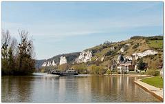 La Seine,  le petit Andelys