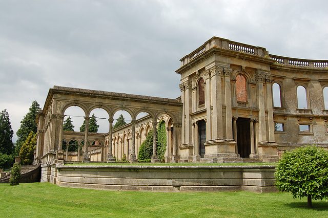 Remains of Conservatory, Witley Court, Worcestershire