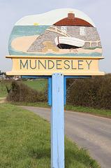 Mundesley Village sign