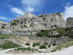 La Cité morte avec les ruines du château