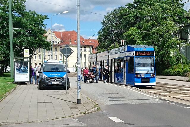 Schwarzfahrer in Rostock erwischt. ☻