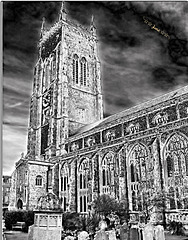 The Church of St Peter and St Paul in Cromer, Norfolk.