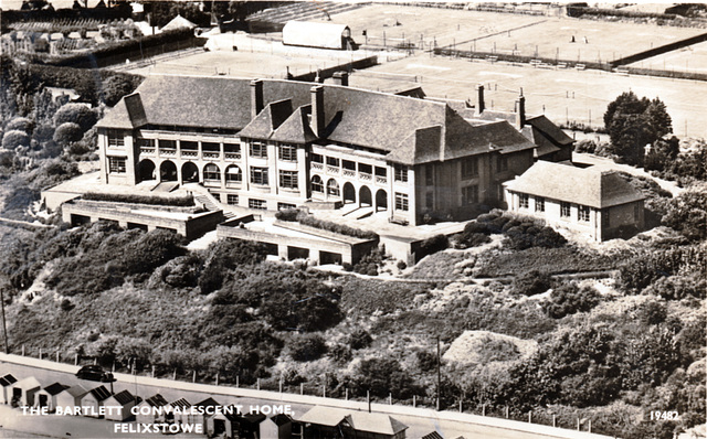 Bartlet Convalescent Home, Felixstowe, Suffolk