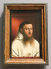 Portrait of a Carthusian by Petrus Christus in the Metropolitan Museum of Art, February 2019