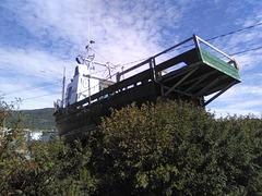 Bateau et torticolis / Stiff neck boat eyesight