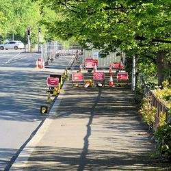 01  road works