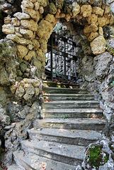 Worms - Die Treppe zum Herkulesbrunnen