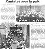 Concert des Chorales à l'église de Chaume-en-Brie le 24/06/1999