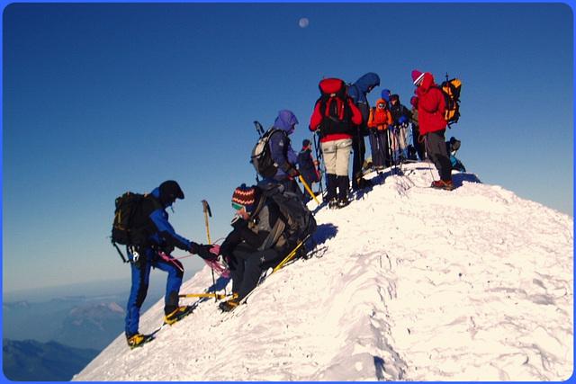 Sommet du Mont Blanc - Mont Blanc summit