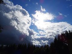 Ciel tourmenté cet après-midi [ON EXPLORE]
