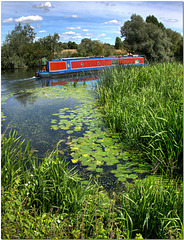 The Great Ouse, Cambridgeshire