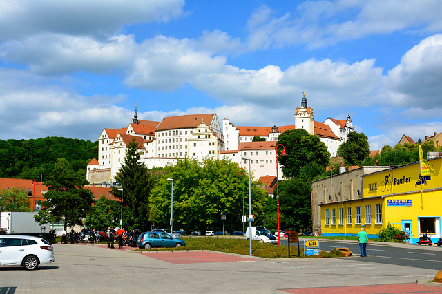 Colditz 2015 – View of Colditz Castle