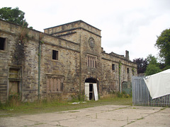 Stables, Winstanley Hall, Wigan, Greater Manchester (now falling into ruin)