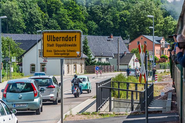 Am Ortseingang von Ulberndorf