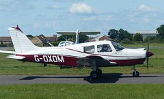 G-OXOM at Solent Airport - 3 June 2018