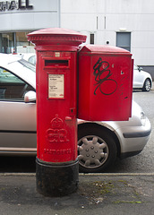 Edward VIII Pillar Box, Glasgow, G41 131