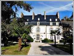 Le château de la Mallerie à Beaussais sur Mer (22)