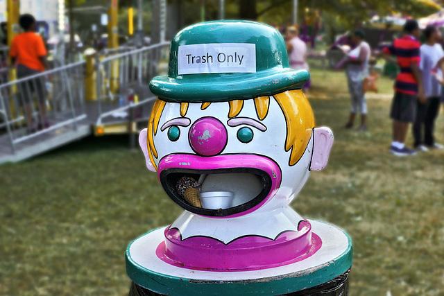 Talking Trash – Labor Day Festival, Greenbelt, Maryland