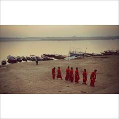 Dawn in Varanasi.