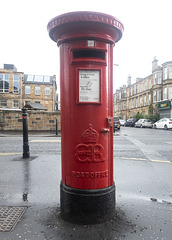 Edward VIII Pillar Box, Glasgow - G41 187