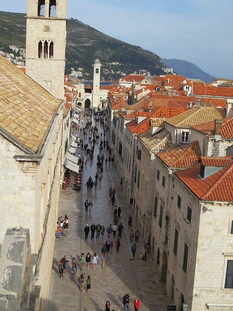 Les toîts de Dubrovnik, 16.