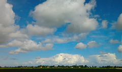Holland at its widest...