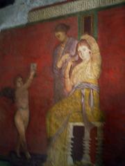 Dionysiac misteries in fresco.