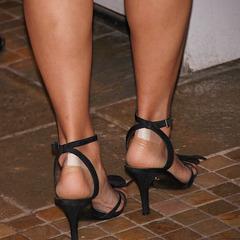 nina heels and nice legs