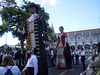 Gigantones (giant characters) of Saint George of the Tricentennial (Catalonia).