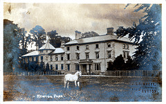 Newton Park, Newton Solney Derbyshire (A photo of c1900 before its early twentieth century remodelling)