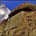 Climber on Cancho Largo