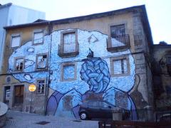 Woolfest mural.