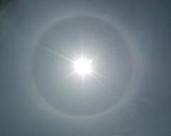 halo solaire / solar halo