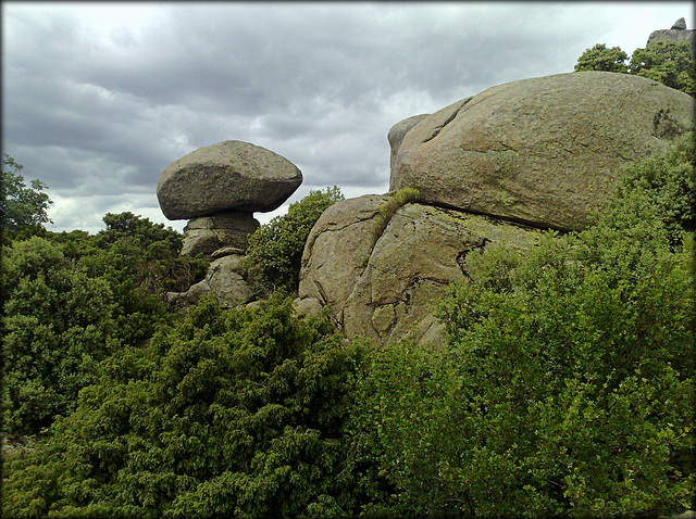 Mushroom Rock (from the other side)