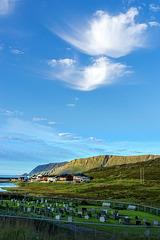 2 happy clouds over Skarsvåg