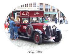 Ice-cream van in Bruges 2005