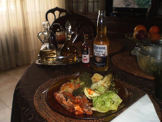 Corona lunch.