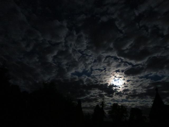 Nachthimmel über Sponholz ...