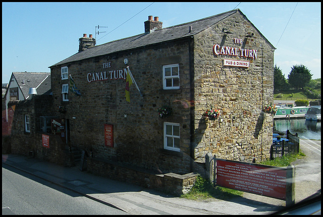 The Canal Turn at Carnforth