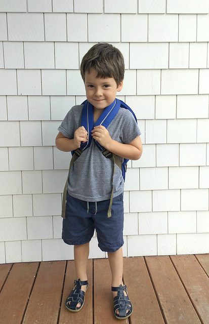 First Day of (Pre) School Excitement