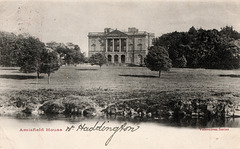 Amisfield House, Haddington, Lothian, Scotland (Demolished)