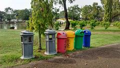 Ici, on recycle merci !