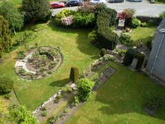 Garden of the Bryn Guest House.